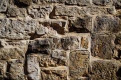 Alte große Backsteinmauer des Schmutzes lizenzfreies stockfoto
