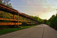 Alte große Eisengießereien Lizenzfreie Stockfotos