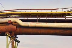 Alte große Eisengießereien Stockbild