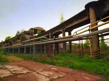 Alte große Eisengießereien Stockfoto
