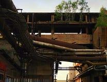 Alte große Eisengießereien Lizenzfreie Stockbilder