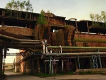 Alte große Eisengießereien Stockfotografie