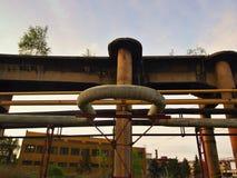 Alte große Eisengießereien Stockfotos