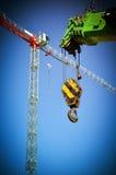 Alte gru di costruzione Fotografia Stock