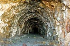 Alte Grube Stockbild