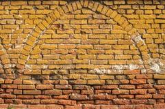 Alte grunge Backsteinmauer Stockfotografie