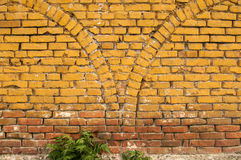 Alte grunge Backsteinmauer Lizenzfreies Stockbild