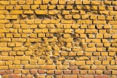 Alte grunge Backsteinmauer Lizenzfreie Stockbilder