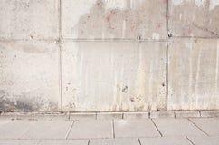 Alte grunge Betonmauer Stockbilder