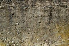 Alte grungy beige Wandbeschaffenheit Lizenzfreies Stockbild