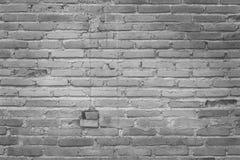 Alte grungy Beschaffenheit, graue Backsteinmauer mit Weinleseartmuster für Hintergrund und Designkunstwerk Lizenzfreie Stockfotografie