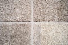 Alte grungy Beschaffenheit, graue Betonmauer Vier Platten | Vektorweltmeisterschaft Stockfotos