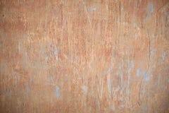 Alte grungy Beschaffenheit, orange Betonmauer Stockfotos