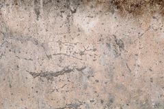 Alte grungy Betonmauerbeschaffenheit für Hintergrund und Design Lizenzfreies Stockfoto