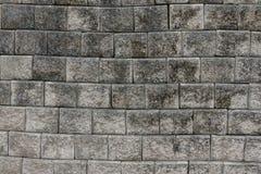Alte grungy graue Backsteinmauerbeschaffenheit Stockfotos