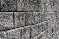 Alte grungy graue Backsteinmauerbeschaffenheit Stockfoto