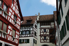 Alte Häuser Lizenzfreie Stockbilder