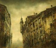 Alte Häuser; Lizenzfreie Stockfotografie