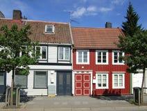 Alte Häuser Lizenzfreies Stockbild
