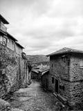 Alte Häuser Stockfotos