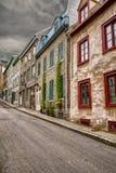Alte Häuser Stockbild