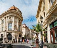 Alte Häuser in Bukarest, Rumänien Stockfoto