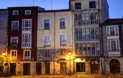 Alte Häuser in Burgos Lizenzfreies Stockbild