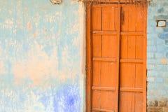 Alte Häuser an den indischen Dörfern Lizenzfreies Stockbild