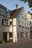 Alte Häuser in der deutschen Stadt, Weiden Lizenzfreies Stockfoto