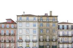 Alte Häuser in der Mitte von Porto Lizenzfreies Stockfoto