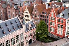 Alte Häuser des Herrn Stockfoto