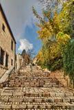 Alte Häuser in Jerusalem Stockfotografie