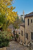 Alte Häuser in Jerusalem Stockbilder