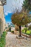 Alte Häuser in Jerusalem Lizenzfreies Stockbild