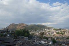 Alte Häuser 3 Lijiang Stockbilder