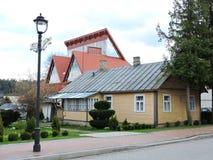 Alte Häuser, Litauen Lizenzfreie Stockfotografie
