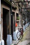 Alte Häuser in Shanghai Lizenzfreies Stockbild