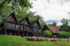Alte Häuser Thailand stockfotografie