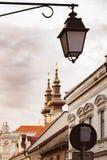 Alte Häuser in Timisoara, Rumänien Stockfotos