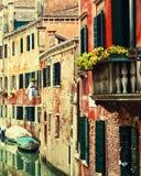Alte Häuser in Venedig Lizenzfreie Stockbilder