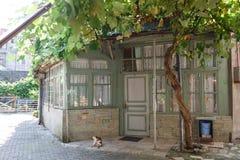 Alte Häuser von Batumi, Georgia Lizenzfreie Stockbilder