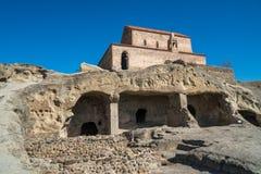 Alte Höhlestadt Uplistsikhe in der Kaukasus-Region, Georgia Lizenzfreie Stockfotografie