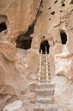 Alte Höhlewohnungen Stockfotografie