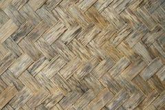 Alte hölzerne Bambusbeschaffenheit Lizenzfreies Stockfoto