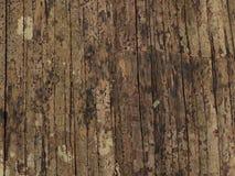 Alte hölzerne Bambusbeschaffenheit Stockbilder