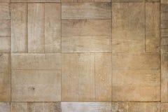 Alte hölzerne Beschaffenheit beschmutzt Planken-Weinlese-Parkett-Brown-Schreibtisch-beige orange Boden lizenzfreies stockfoto