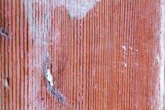 Alte hölzerne Beschaffenheit mit Spuren von Abnutzungen Stockbild