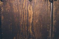 Alte hölzerne Beschaffenheit und Hintergrund Alte hölzerne Tür Stockfotografie