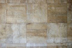 Alte hölzerne Beschaffenheit verkratzt Planken-Weinlese-Parkett-Brown-Schreibtisch lizenzfreie stockbilder