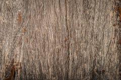 Alte hölzerne Beschaffenheitshintergrundoberfläche Draufsicht der hölzernen Beschaffenheitstischplatte Stockfotografie